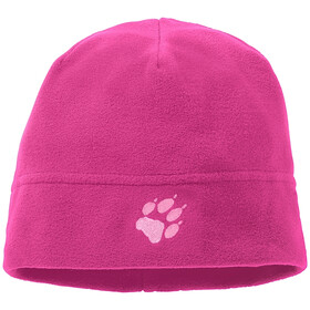 Jack Wolfskin Real Beanie Stuff Kinder pink fuchsia